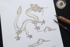 """""""Tibetan dragon"""""""