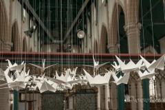 Kraanvogel project, Grote Kerk Weesp, 2019