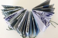 """""""Bomen die dromen"""", boekje van grafisch materiaal, 12 x 7 x 5 cm"""